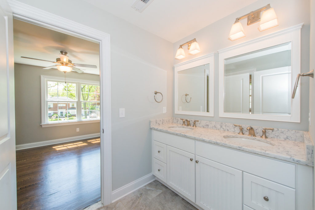 jack and jill bathroom premier design custom homes