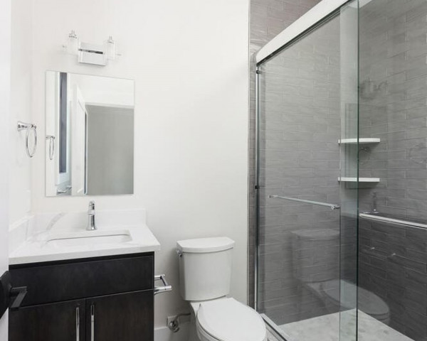 1st Floor Office Bathroom