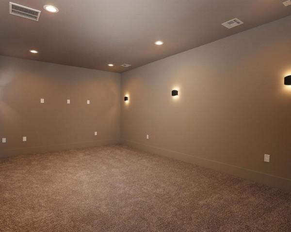 Basement - Media Room