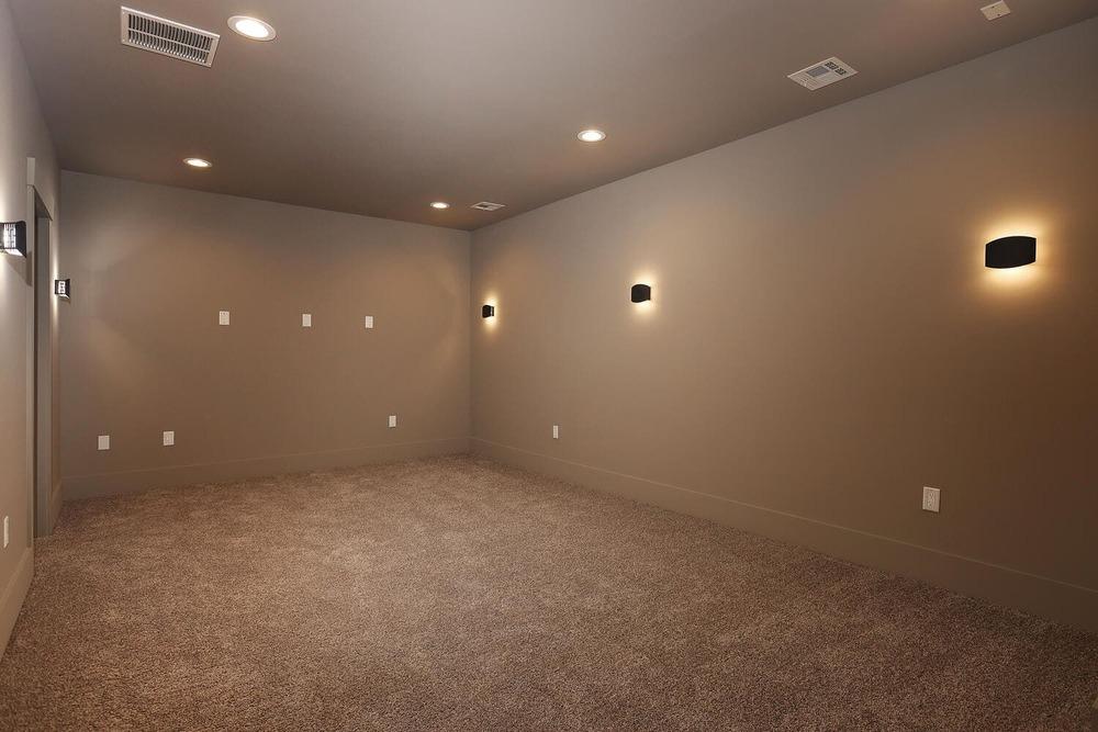 Basement – Media Room