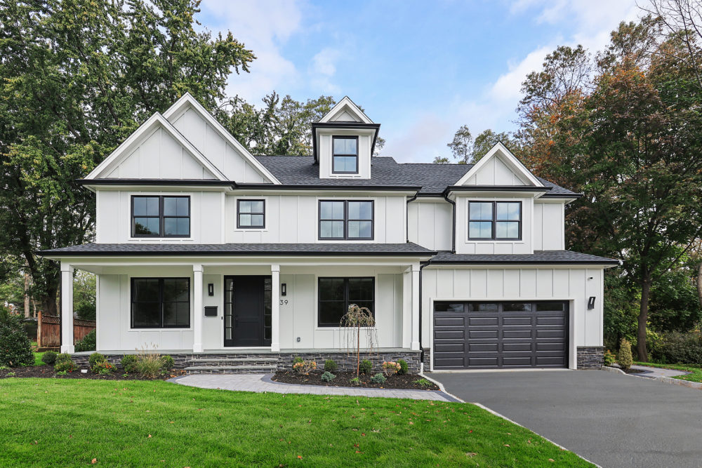 premier design custom homes westfield nj front elevation