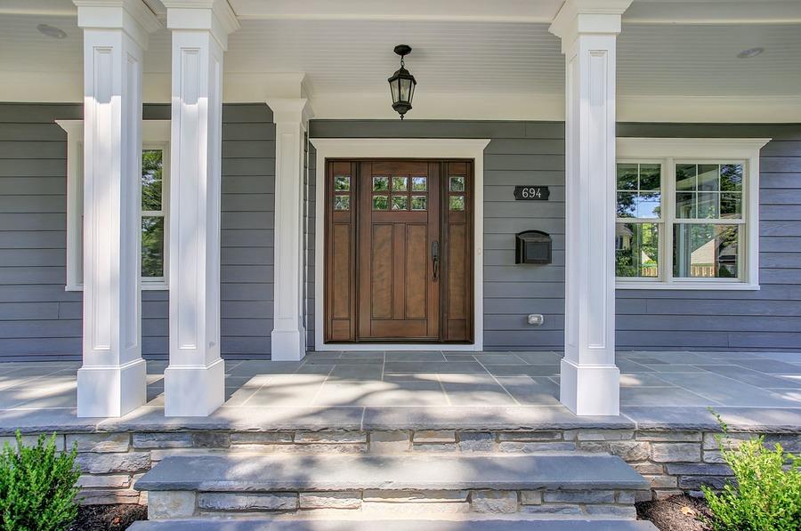 premier design custom homes choosing a front door style
