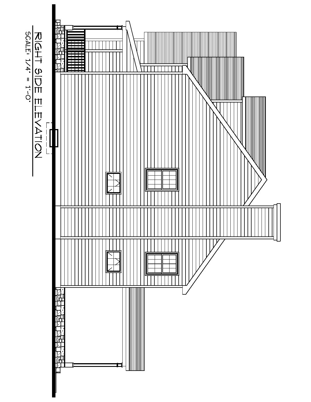 Right Side Elevation