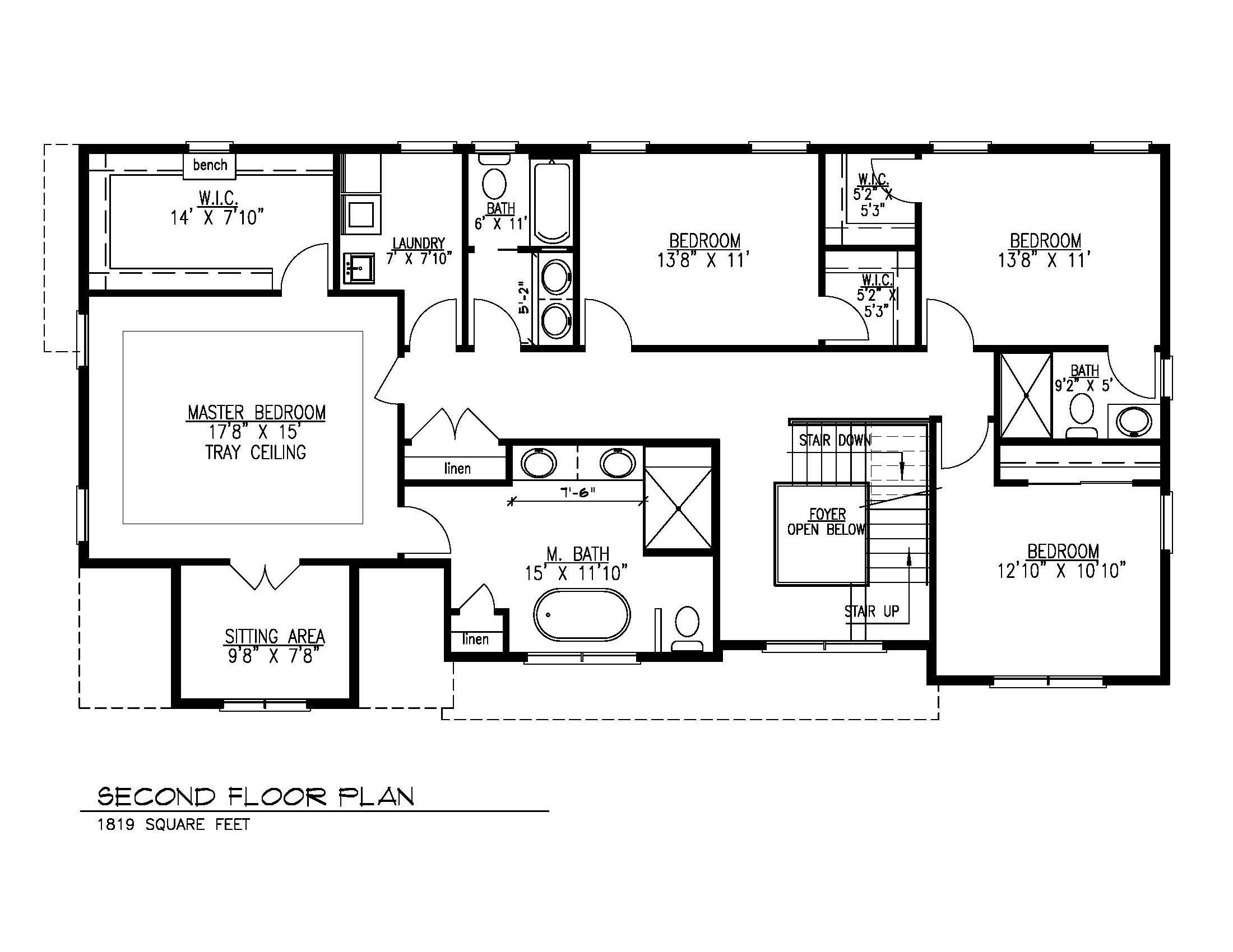 Second Floor Plan-08-16-2021